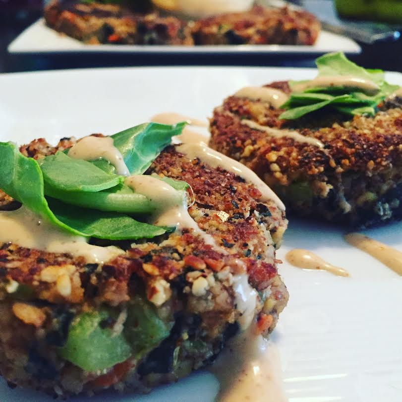 Tempeh Wakame Crab Cakes Vegan Recipe Happy Body Kitchen